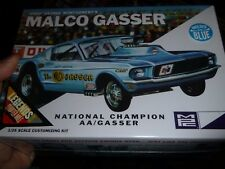 MPC OHIO GEORGE MALCO GASSER MUSTANG Model Car Mountain 1/25 FS RETRO #804 BLUE
