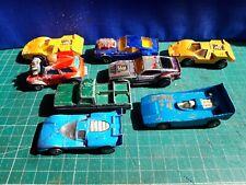 JOBLOT 8 MATCHBOX AND CORGI CARS,INCLUDES MUSTANG, MINI, FERRARI  ETC.