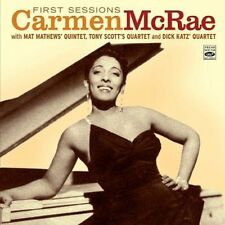 Carmen McRae FIRST SESSIONS