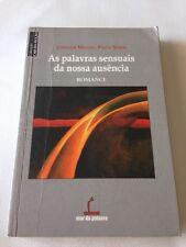 As palavras sensuais da Nissan ausencia Paperback Joaquim Manuel PintoSerra 2006