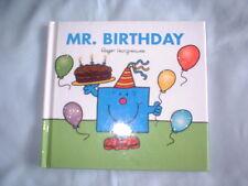 Roger Hargreaves - Mr Birthday (hardback) added sparkle