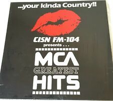 CISN FM 104 Presents MCA Greatest Hits Promotional LP 1985 Vinyl Record
