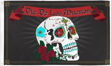 Dia De Los Muertos 3x5' Flag New Day of the Dead Banner Mexico Holiday