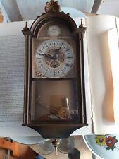 Vecchio Orologio Pendolo da ripristinare altezza 35 cm