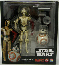 Star Wars The Force Awakens 6 Inch Action Figure Mafex Series - C-3PO & BB-8 #29