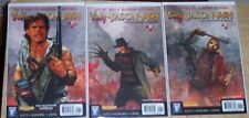 Freddy Vs Jason Vs Ash Nightmare Warriors Horror Comic 8 Iss Lot Evil Dead F13Th