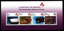 2014 The Australian Defence Force 100 Years of Service - MUH Mini Sheet