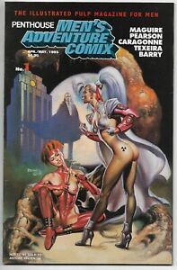 Penthouse Adventure Comix #1 Vallejo Maguire Pearson Caragonne Texeira Barry NM