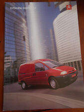 Citroen Dispatch brochure Sep 2001