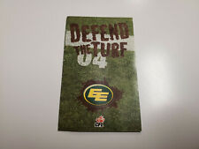 Rs20 Edmonton Eskimos 2004 Cfl Football Pocket Schedule - Molson & Others