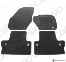 Volvo S60 2010+ Onwards Tailored Carpet Car Floor Mats Black 8 Clips