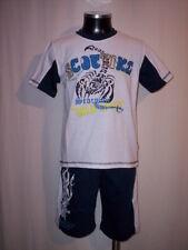 Completo niño niño camiseta pantalones bermudas corto 4 6 8 12 años