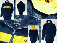 2 in 1 H2O Jacke Windbreaker + Fleecejacke Boys outdoor dunkelblau/gelb XL 176