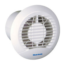 """Vent-Axia ECLIPSE 100XT 4"""" Extractor Fan, Back-Draught Shutter and Overrun Timer"""