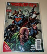 FOREVER EVIL # 5 COMBO-PACK VARIANT  DC Comic  April 2014   NM  Polybagged