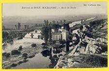 cpa 39 - Environs de DOLE ROCHEFORT sur NENON (Jura) Bords du DOUBS