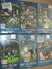 Opera Complete 6 VHS Fantastic Inter FC Journal New