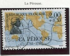 TIMBRE FRANCE OBLITERE N° 2519 LA PEROUSE / Photo non contractuelle