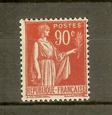 """FRANCE STAMP TIMBRE N° 285 """" TYPE PAIX 90c ROUGE CARMINE """" NEUF xx TTB"""
