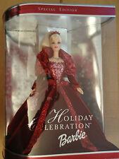 2002 Holiday Celebration Barbie Doll NRFB MIB