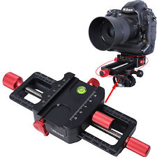 150mm Macro Focusing Rail Slider Close-up Shooting Support pour Trépied Rotule