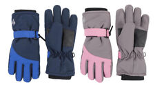 Heat Holders Childrens Waterproof Fleece Lined Warm Ski Gloves for Cold Weather