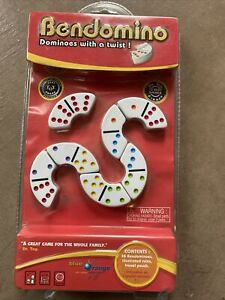 Bendomino: Dominoes with a Twist! Tile Game BRAND NEW SEALED!