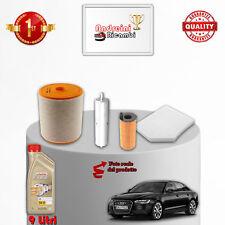 KIT TAGLIANDO FILTRI E OLIO AUDI A6 C7 3.0 TDI 150KW 204CV DAL 2011 ->