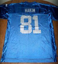 DETROIT LIONS Az-Zahir Hakim football jersey XL Reebok nylon Muslim #81