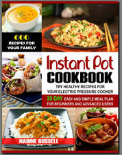 Instant Pot Cookbook – 600 Recipes for Your Family & 30 PDF/Eb00k Fast Delivery