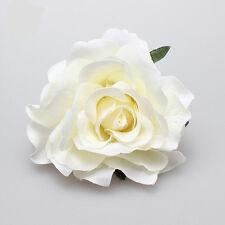 Cute Bridal Rose Flower Hair Clip Hairpin Brooch Wedding Bridesmaid Party Beauty