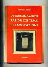 Antonino Riggio # DETERMINAZIONE RAPIDA DEI TEMPI DI LAVORAZIONE # Viglongo
