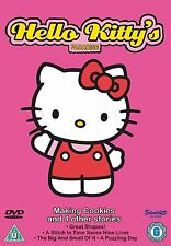 Hello Kitty's Paradise Making Cookies & 4 Other Stories[DVD]Brand new and sealed