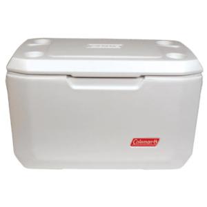 Coleman Chest Cooler 70 Qt. Comfort-Grip Leak-Resistant Polyethylene White