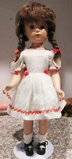"""Vintage Original Madame Alexander Margaret O'Brien Composition 18""""  Doll & Dress"""