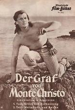 DER GRAF VON MONTE CHRISTO Filmprogramm IFB 2512 Jean Marais