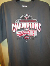 Cincinnati Reds 2010 Central Division Champions Large T-Shirt by Majestic