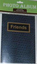 "4 Photo Albums 4""X6"" Friends Blue Photograph Album Holds 48 Pics Cmy Other Items"