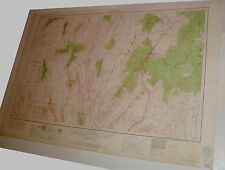 Vintage Lg Wall Map Caliente Utah Nevada Usgs 1954/62 Army Corp Engr Lincoln Co
