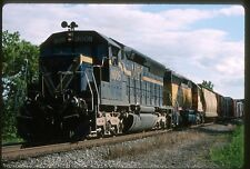 WA Railroad Train Postcard - MPI SD45 #9027 Leads Burlington Northern Cheney