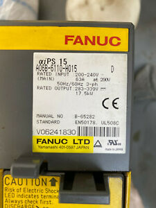 Fanuc A06B-6110-H015 Power Supply Module CNC Steuerung