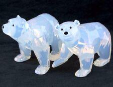 Swarovski Crystal SCS Opal Polar Bear Cubs 2011 Annual Limited Edition 1080774
