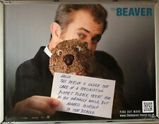Cinema Poster: BEAVER, THE 2011 (Quad) Mel Gibson Jodie Foster Anton Yelchin