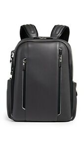 TUMI ARRIVE LOGAN LEATHER BACKPACK TAUPE NEW #955011  $845