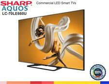 "Sharp 70"" inch LC-70LE661U Smart TV AQUOS 1080p Full HD LED-backlit LCD TV WiFi"