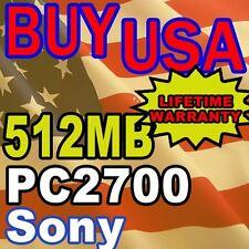 512MB Sony VAIO PCG-K13 PCG-K15 PCG-K17 Memory RAM