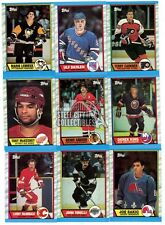 1989-90 Topps Hockey Complete Hand Collated Set 1-198