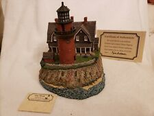 Harbour Lights 219 Gay Head, Ma Lighthouse, Signed, Coa, Box Low #174 c.1998.