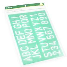 Linex 30mm Standard Stencil - Green