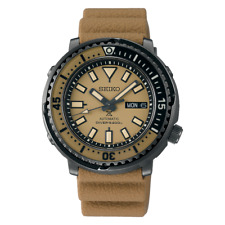 "Seiko Prospex Men's Urban Safari ""Desert Beige"" Baby Tuna Watch SRPE29K1"